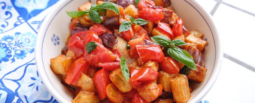 Melanzane a funghetto, ricetta napoletana
