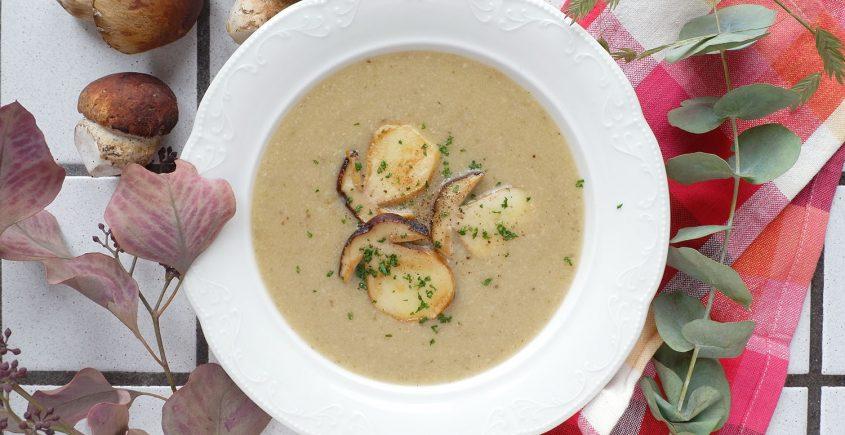 crema ai funghi porcini e patate