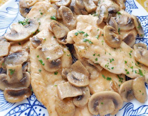 petto di pollo ai funghi